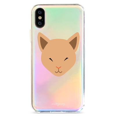 Sphynx - Holographic iPhone Case