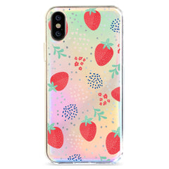 Summer Berry - Holographic iPhone Case