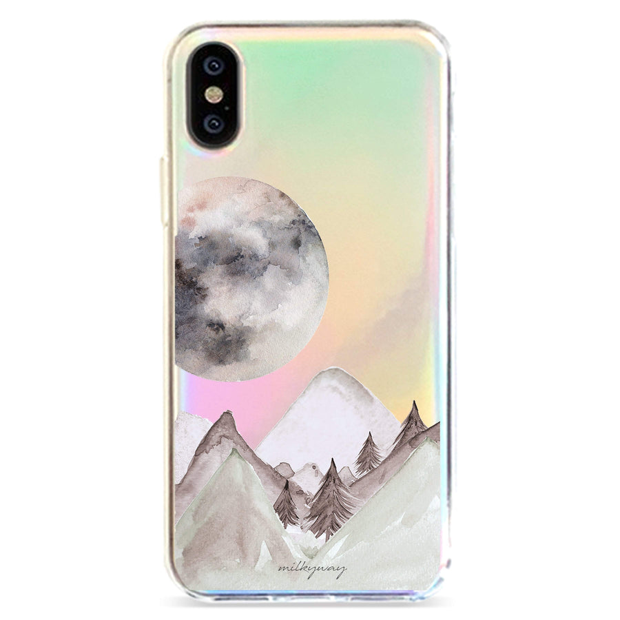 Twilight Holographic Case - Clear Cut Silicone iPhone Cover - Milkyway Cases