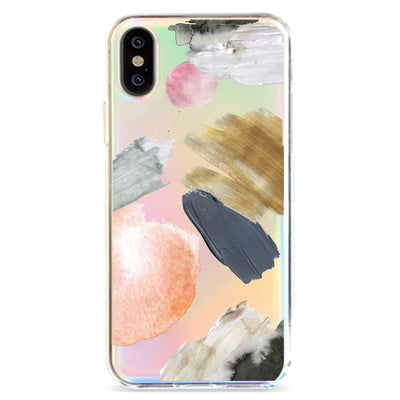 Abstract Party - Holographic iPhone Case