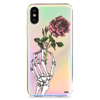 Crane Rose - Holographic iPhone Case