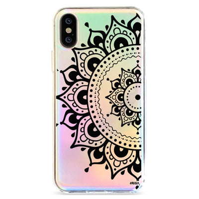 Hayley Mandala - Holographic iPhone Case