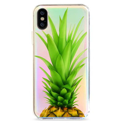Pineapple Head - Holographic iPhone Case