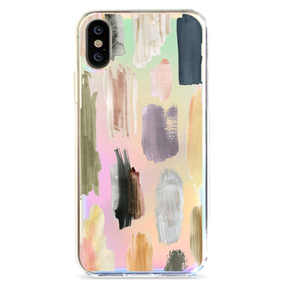 Strokes - Holographic iPhone Case