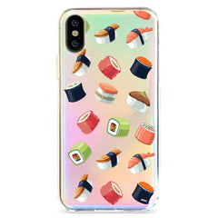 Sushi Lover - Holographic iPhone Case