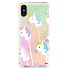 Unicorn Pops - Holographic iPhone Case