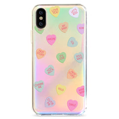 Valentines - Holographic iPhone Case
