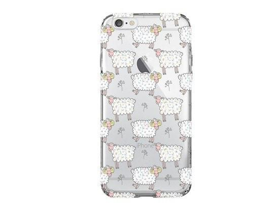 Counting Sheep - Clear TPU Case Cover - Milkyway Cases -  iPhone - Samsung - Clear Cut Silicone Phone Case Cover
