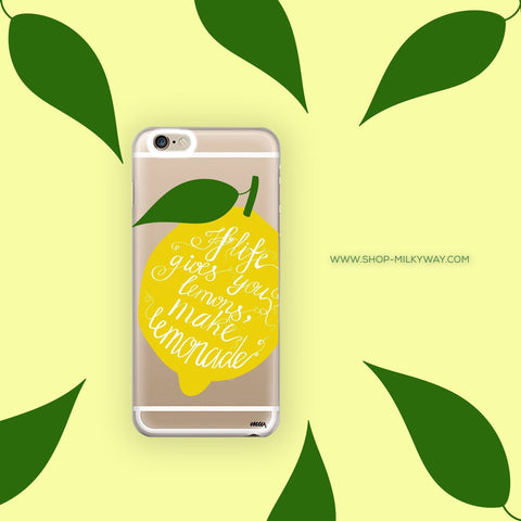 Lemonade - Clear TPU Case Cover