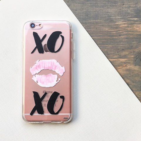 XOXO - Clear TPU Case Cover