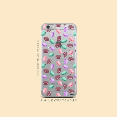 A Taste Of Paris (@okitssteph x @milkywaycases)' - Clear Case Cover - Milkyway Cases -  iPhone - Samsung - Clear Cut Silicone Phone Case Cover