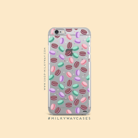 A Taste Of Paris (@okitssteph x @milkywaycases)' - Clear TPU Case Cover