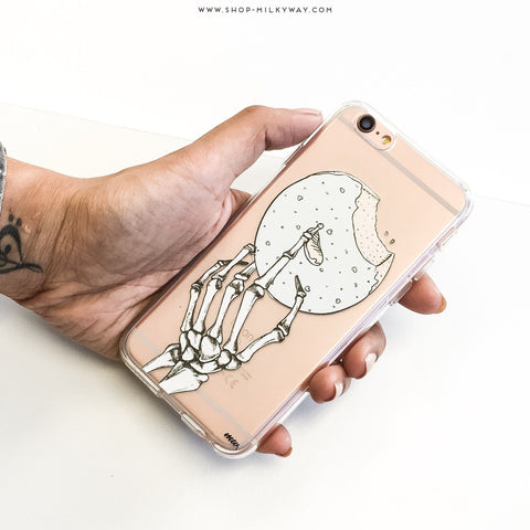 Crane Donut- Clear TPU Case Cover