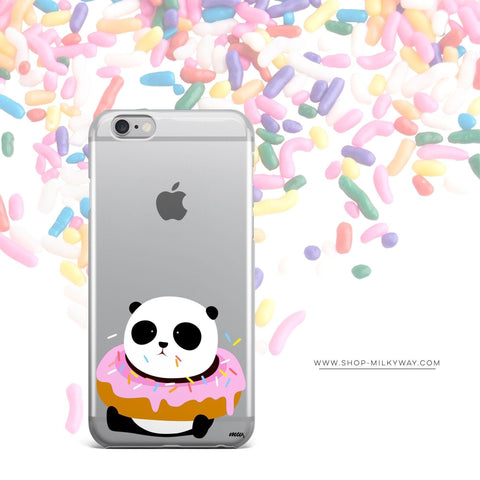 'Pandonut' - Clear TPU Case Cover