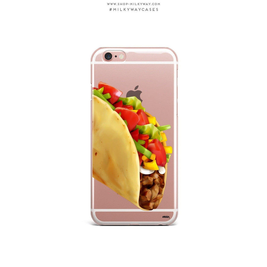 Soft Shell Taco - Clear Case Cover