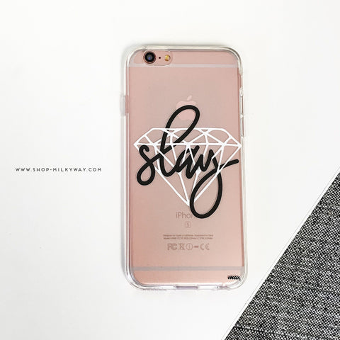Iced Slay- Clear TPU Case Cover