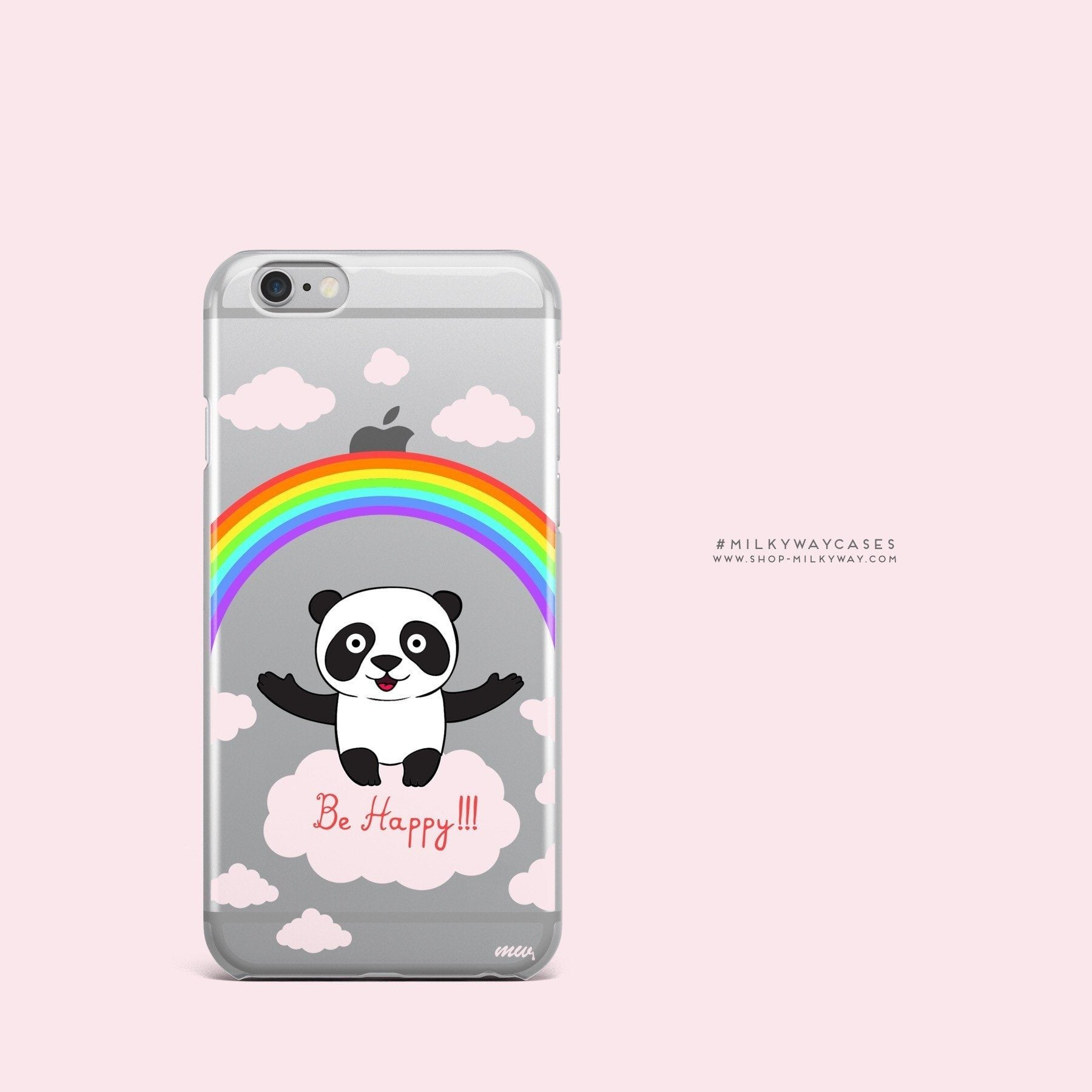 Be Happy' - Clear Case Cover