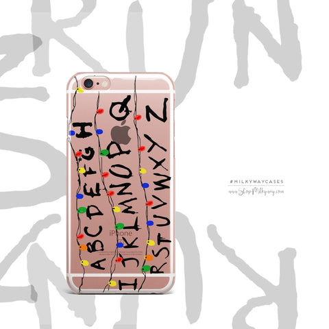 'Run' - Clear TPU Case Cover