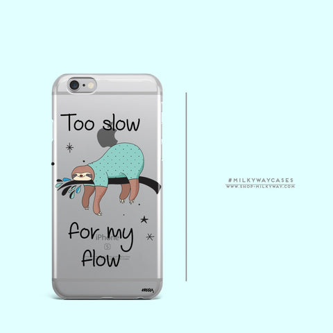 'Too Slow' - Clear TPU Case Cover