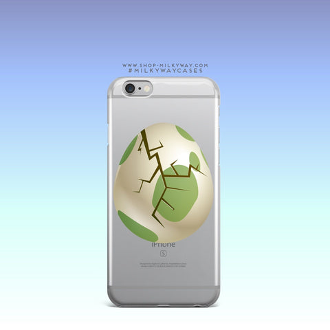 'The Hatch' - Clear TPU Case Cover