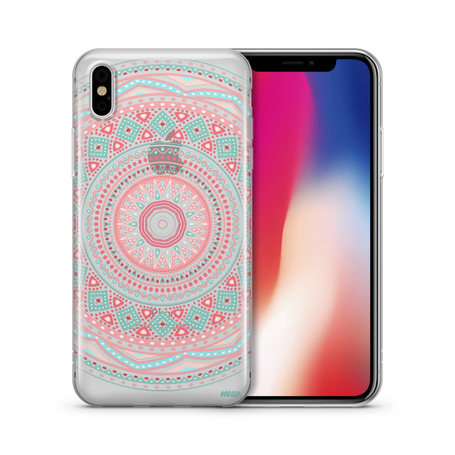 Anna Mandala - Clear TPU Case Cover