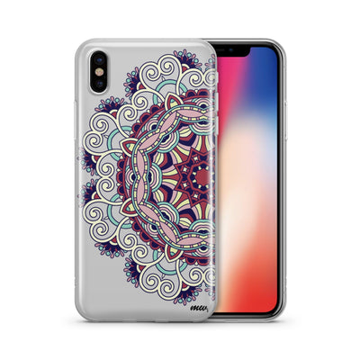 Colored Mandala iphone x