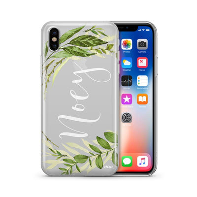 Custom In The Wild - Clear Case Cover - Milkyway Cases -  iPhone - Samsung - Clear Cut Silicone Phone Case Cover