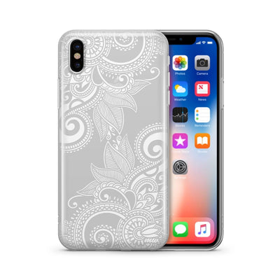 Efflorescent - Clear TPU Case Cover - Milkyway Cases -  iPhone - Samsung - Clear Cut Silicone Phone Case Cover