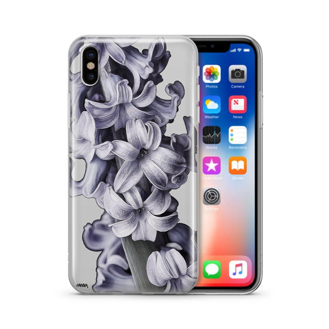 Hyacinth - Clear Case Cover