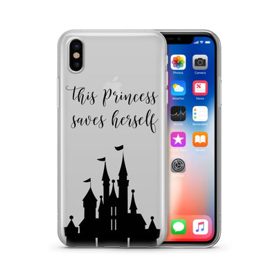 This Princess Saves Herself iphone x disney