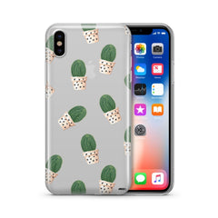 Cacti and Hearts' - Clear Case Cover