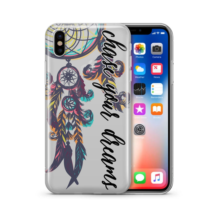 Chase Your Dreams - Clear TPU Case Cover