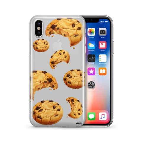 Chocolate Chip Cookie' - Clear Case Cover