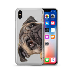 Cry Baby Pug - Clear Case Cover