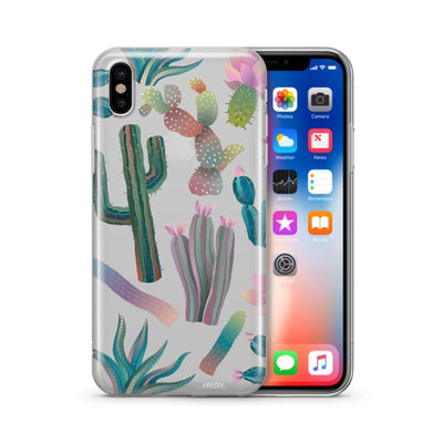 Desert Night - Clear Case Cover - Milkyway Cases -  iPhone - Samsung - Clear Cut Silicone Phone Case Cover