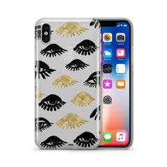 Eyes - Clear TPU Case Cover