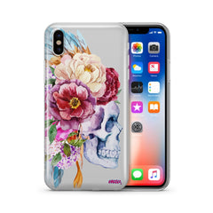 Craneo De La Flor - Clear TPU Case Cover