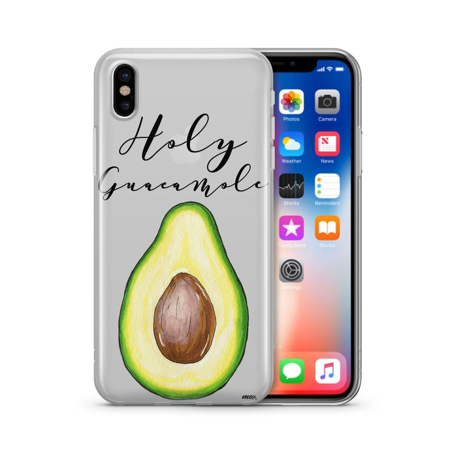Holy Guacamole - Clear Case Cover