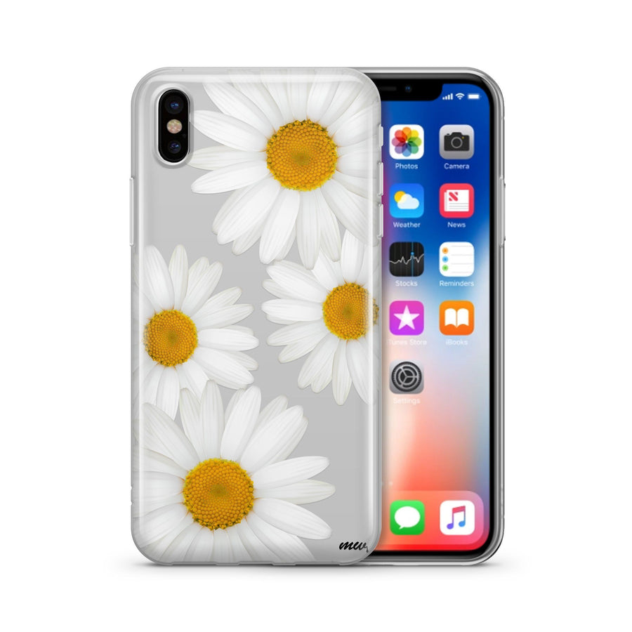 It's Daisies - Clear TPU Case Cover