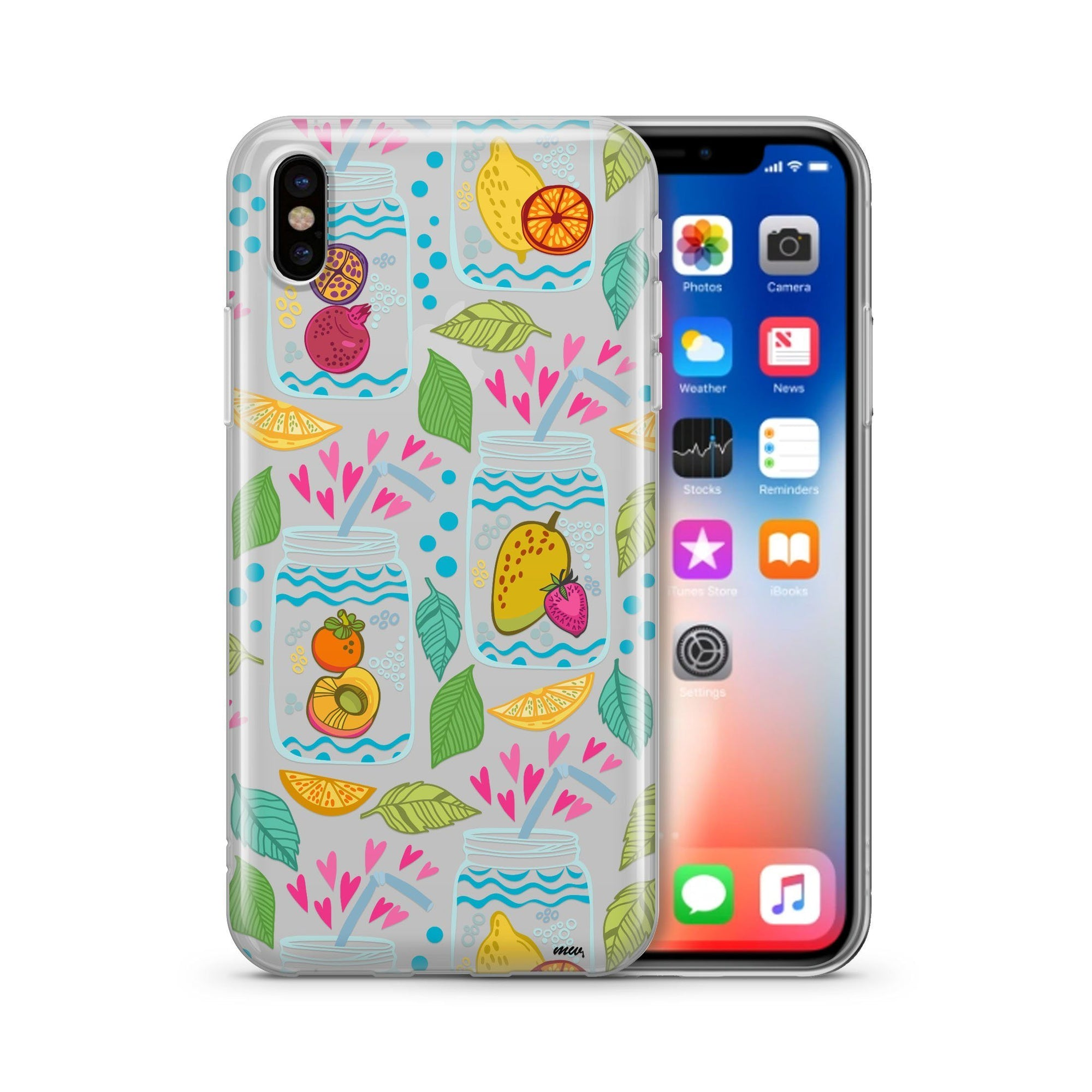 best loved 68b1d e4d5d Homemade Lemonade - Clear Case Cover - Milkyway