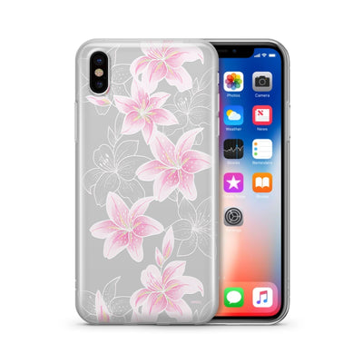 Lily Beth - Clear Case Cover - Milkyway Cases -  iPhone - Samsung - Clear Cut Silicone Phone Case Cover