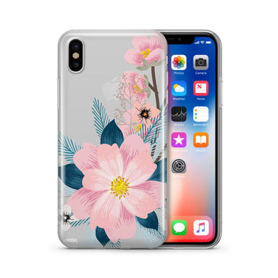 Luau - Clear Case Cover - Milkyway Cases -  iPhone - Samsung - Clear Cut Silicone Phone Case Cover