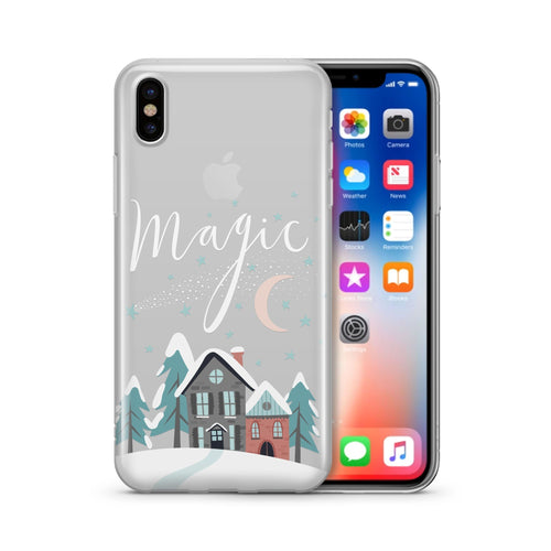 Christmas Magic' - Clear Case Cover