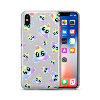 Magical Poops  - Clear Case Cover - Milkyway Cases -  iPhone - Samsung - Clear Cut Silicone Phone Case Cover