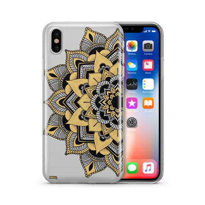 Mantilla Mandala - Clear Case Cover - Milkyway Cases -  iPhone - Samsung - Clear Cut Silicone Phone Case Cover