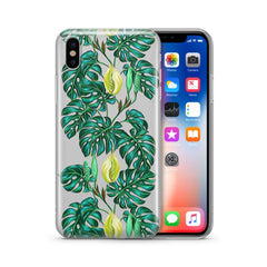 Monstera - Clear Case Cover
