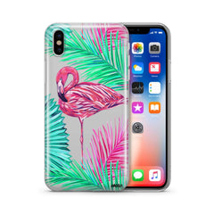 Neon Flamingo - Clear TPU Case Cover