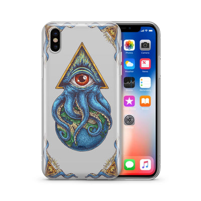 Against The World Clear TPU Case - Clear Cut Silicone iPhone Cover - Milkyway Cases