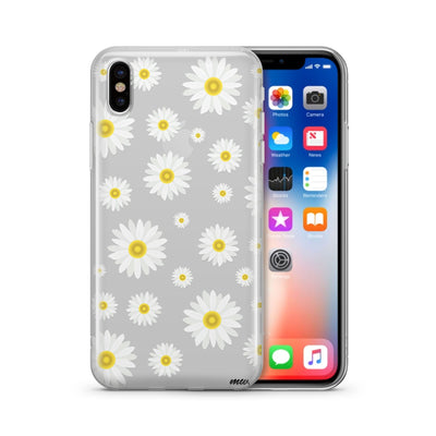 Oopsie Daisy (@okitssteph x @milkywaycases)' - Clear Case Cover - Milkyway Cases -  iPhone - Samsung - Clear Cut Silicone Phone Case Cover