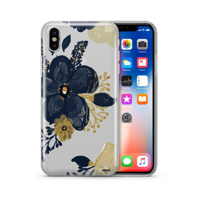 Oprah Floral - Clear TPU Case Cover - Milkyway Cases -  iPhone - Samsung - Clear Cut Silicone Phone Case Cover